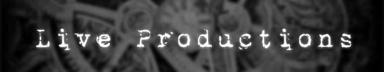Live Productions Header Image